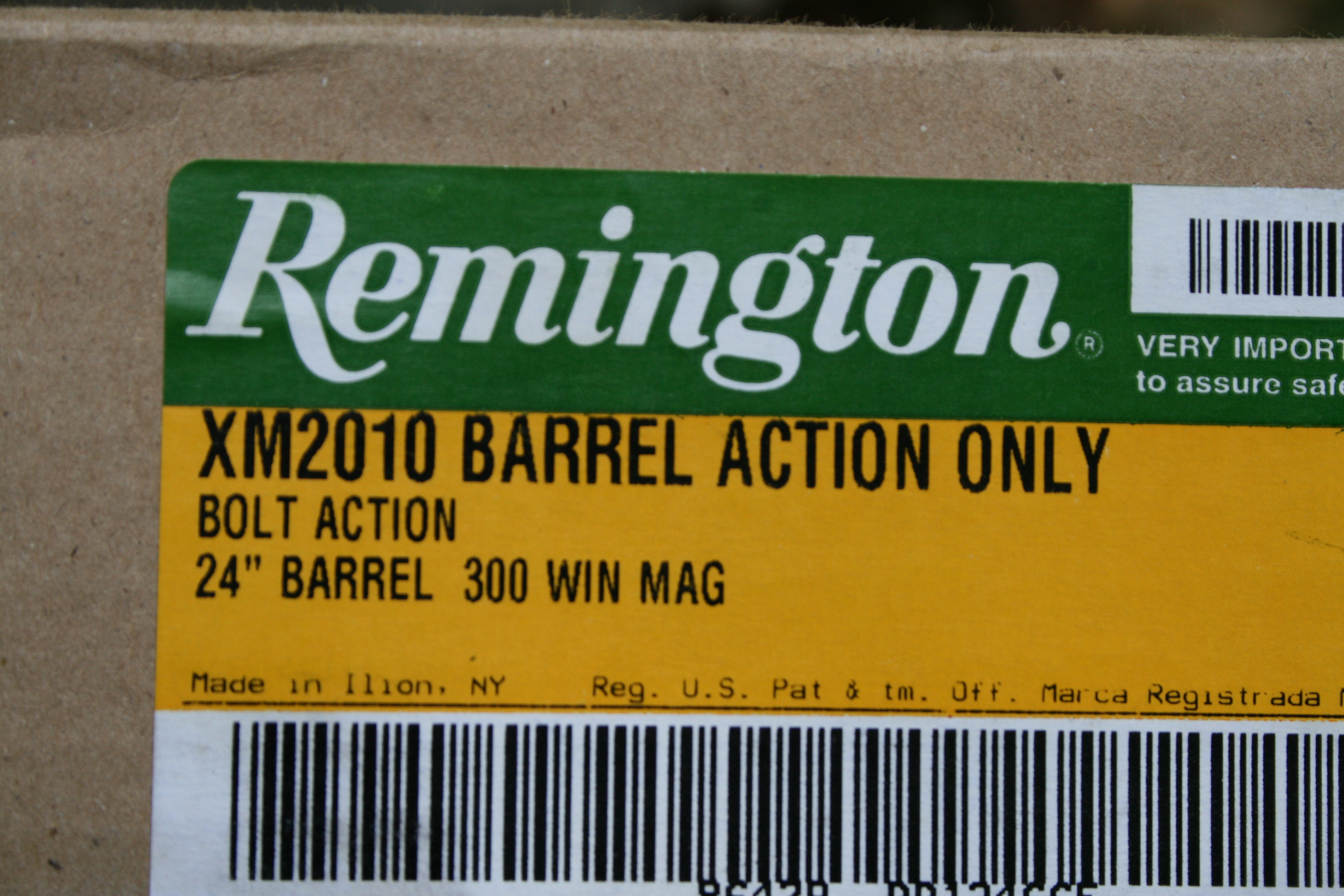 New Remington XM2010 with RACS Chassis Sniper Weapon