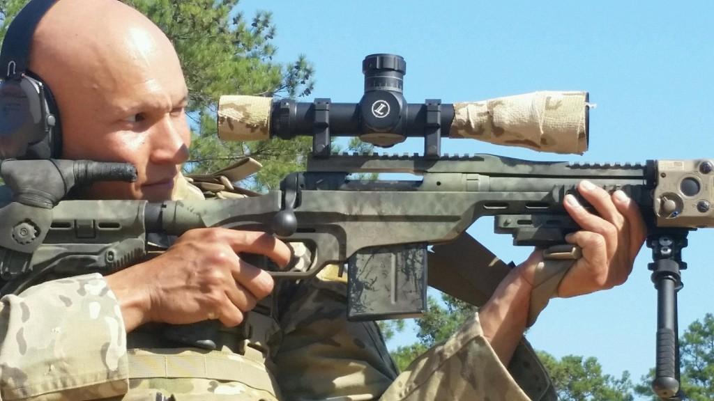 Savage 10/110 BA Stealth - AR15 COM
